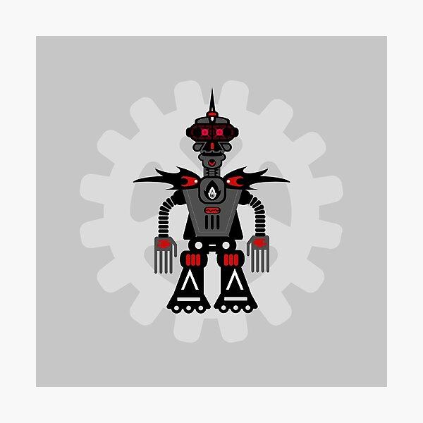 Evil Robot Photographic Print