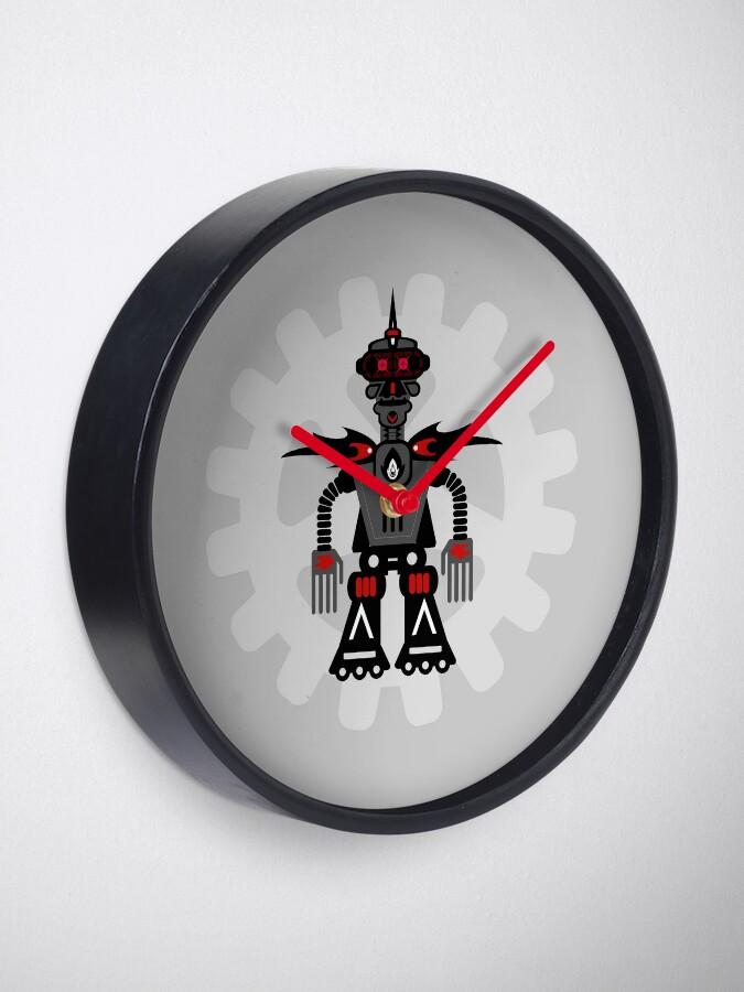 Alternate view of Evil Robot Clock