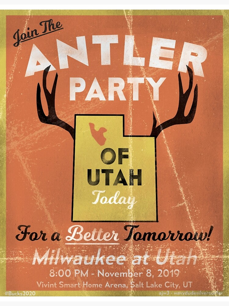 Join the Antler Party of Utah by AJW3-Art