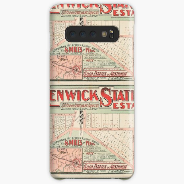 Map of Kenwick Station Estate, Perth, Western Australia, 1915, State Library of Western Australia Samsung Galaxy Snap Case