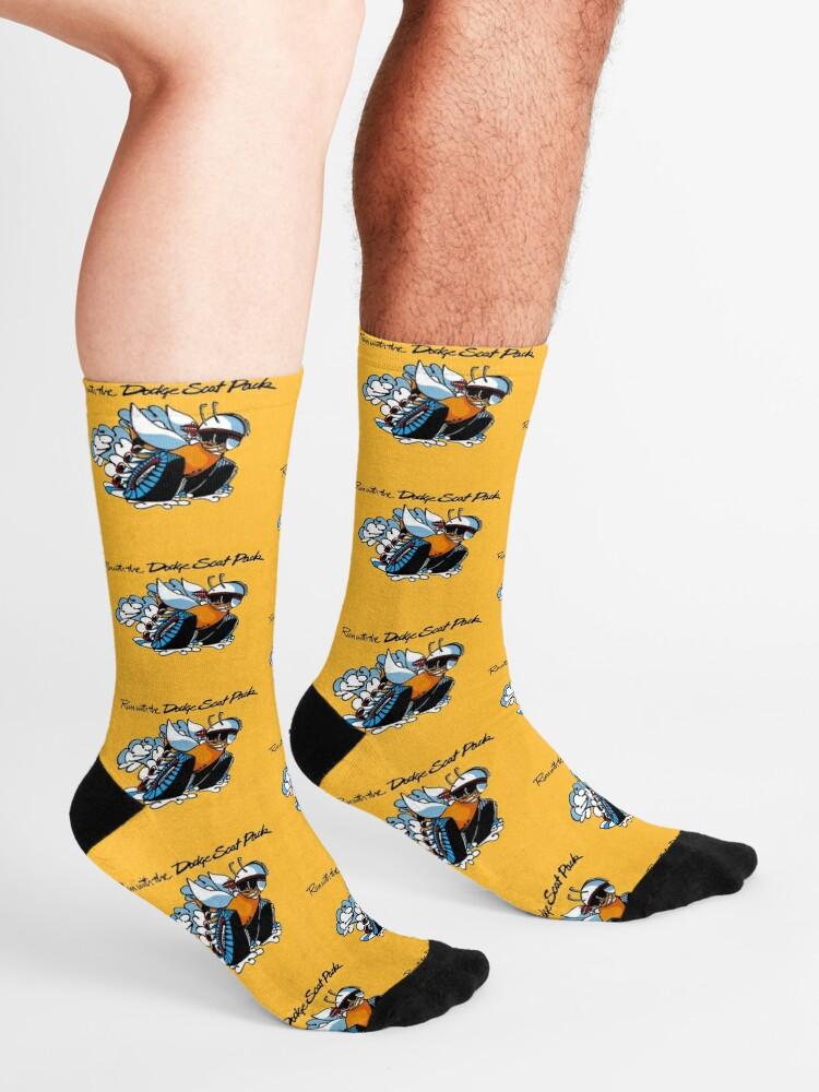 Alternate view of Dodge Scat Pack Shirt, Sticker Hoodie & Decal Socks