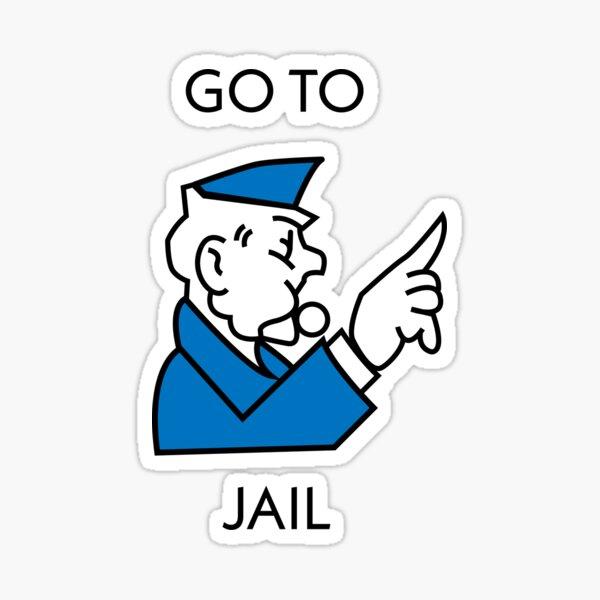 Aller en prison Sticker