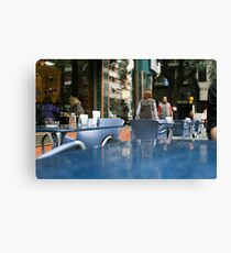 Cafe Canvas Print
