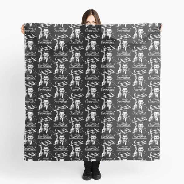 Gomez Addams- Sanity, it's Vastly Overrated Scarf