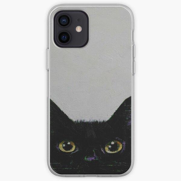 Black Cat iPhone Soft Case