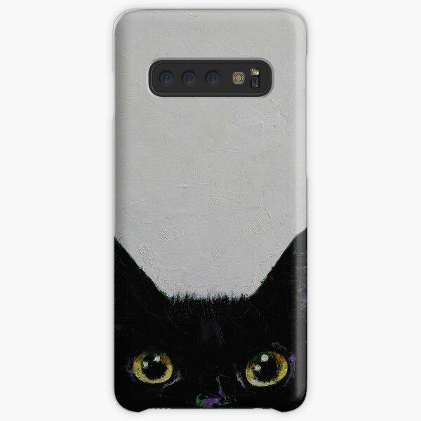 Black Cat Samsung Galaxy Snap Case