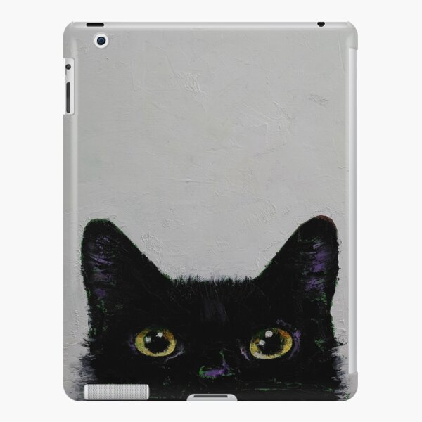 Black Cat iPad Snap Case