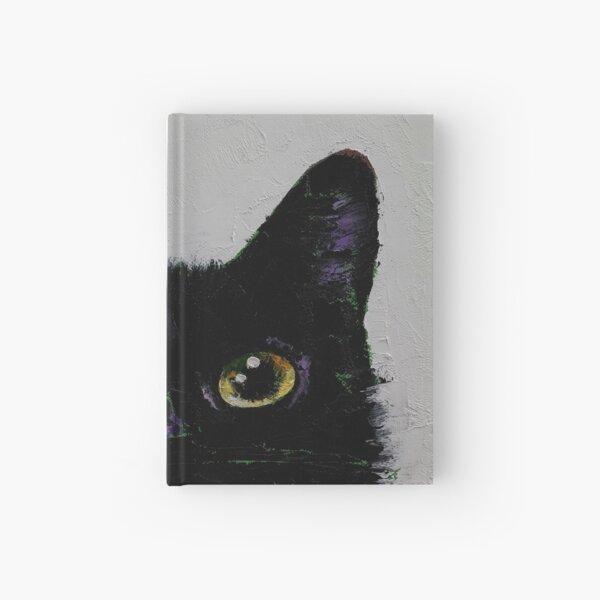 Black Cat Hardcover Journal