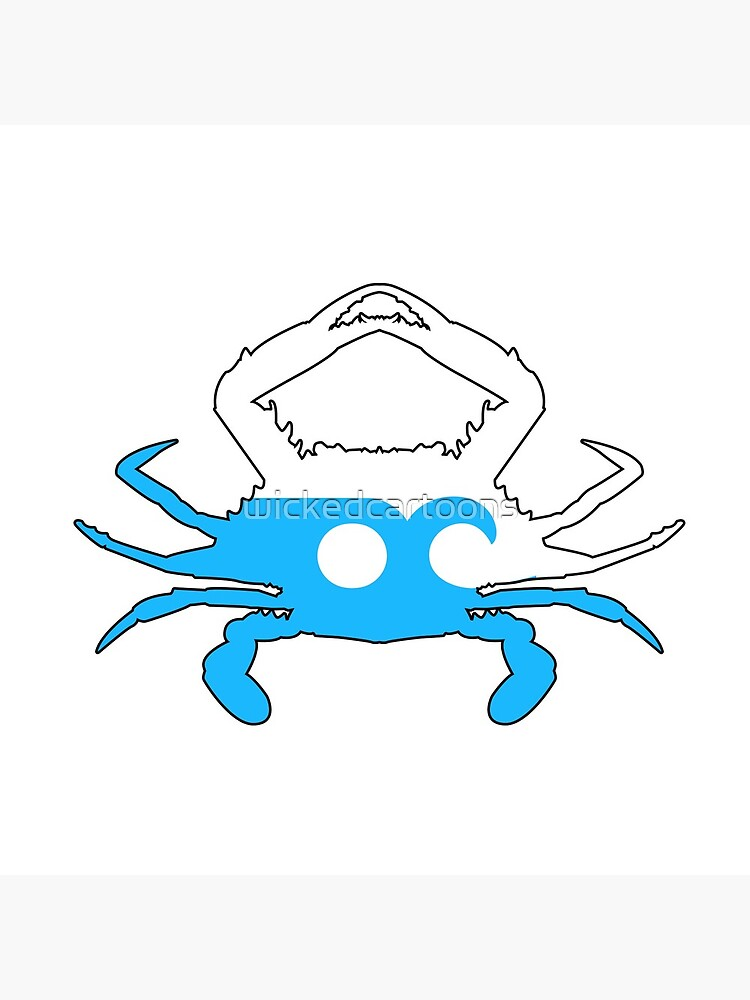 Ocean City Crab by wickedcartoons