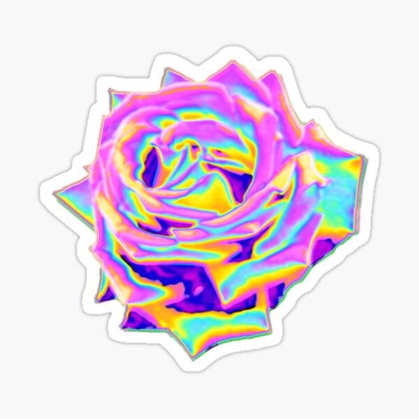 Exhibición de rosas Pegatina