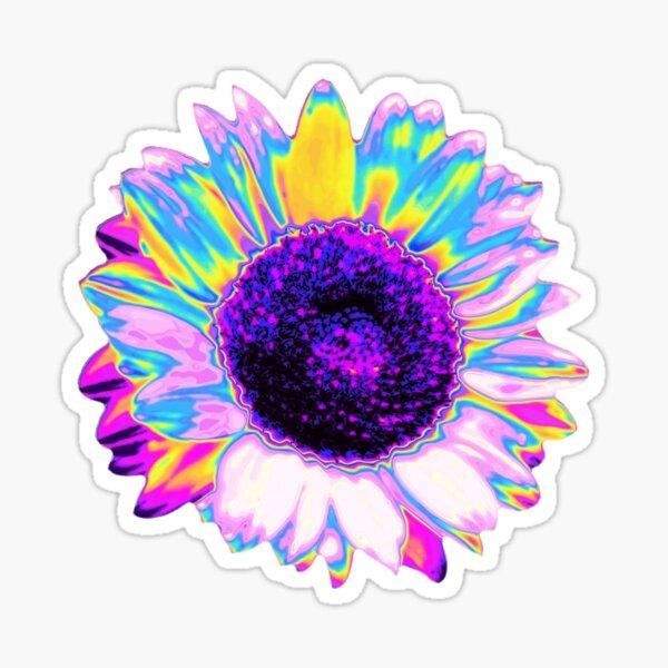 Holographic Sunflower Sticker
