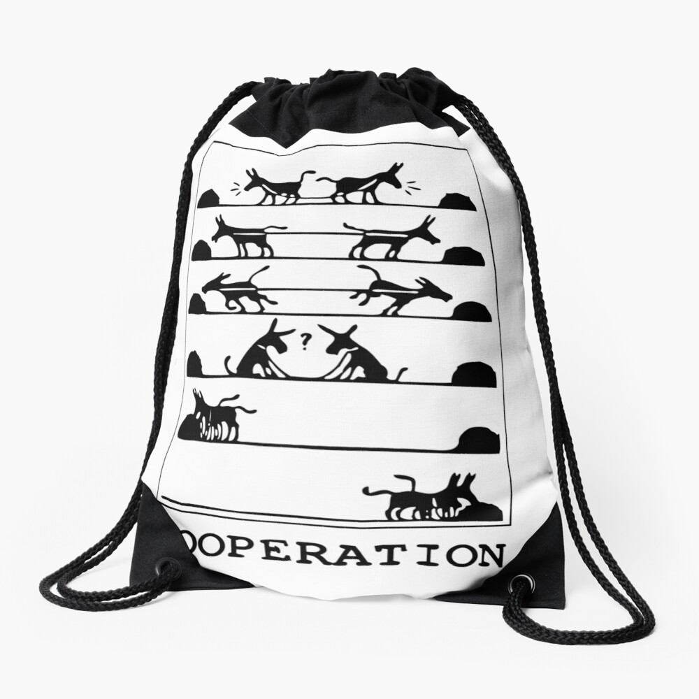 ¿Qué es la cooperación? Mochila saco