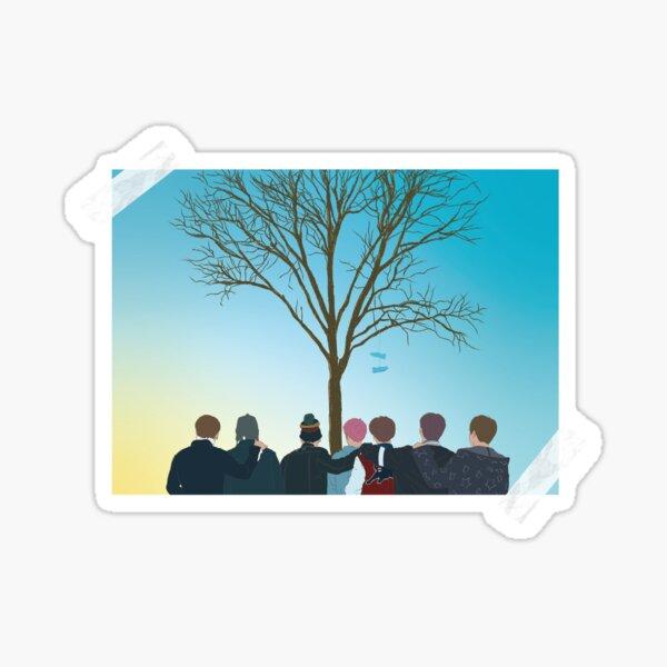 Día de primavera - BTS Pegatina