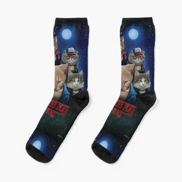 Merkwürdige Pelz-Sachen Socken