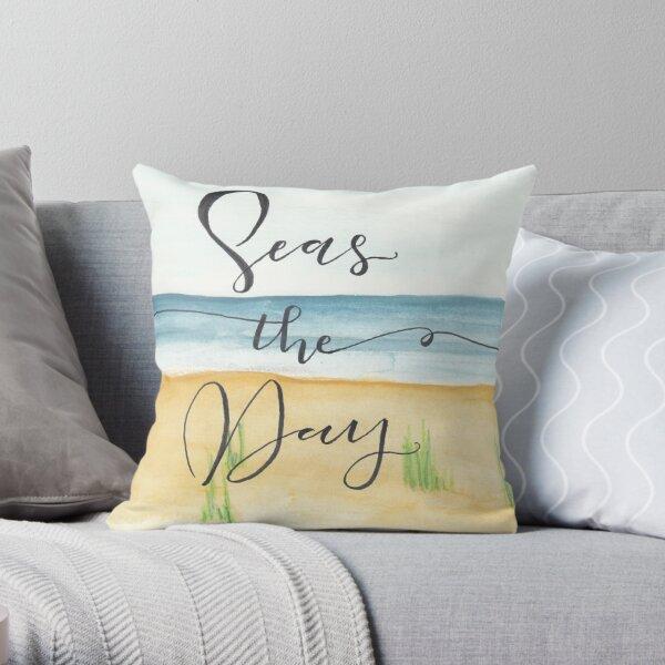 Seas the Day Throw Pillow