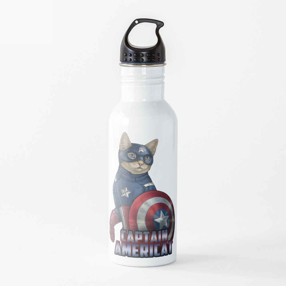 Captain Americat Water Bottle