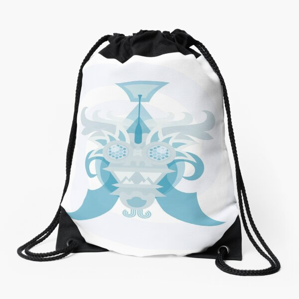 Crystal Sea Creature Drawstring Bag