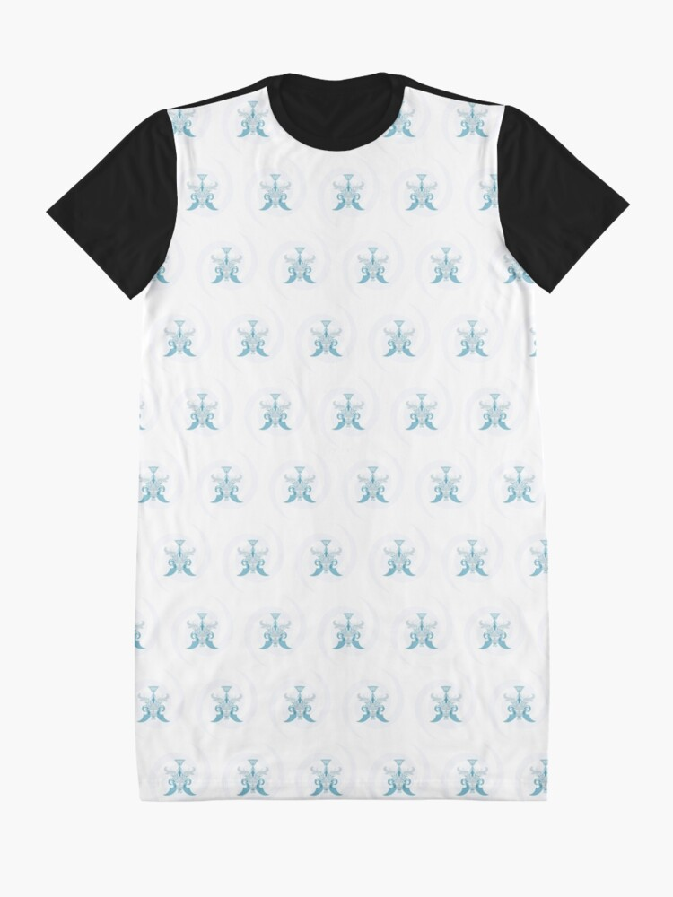 Alternate view of Crystal Sea Creature Graphic T-Shirt Dress