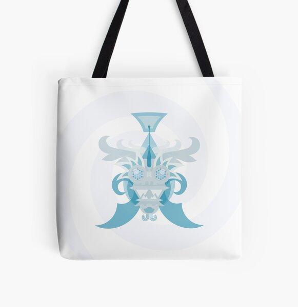 Crystal Sea Creature All Over Print Tote Bag