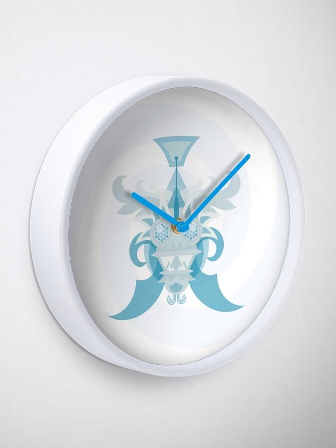 Alternate view of Crystal Sea Creature Clock