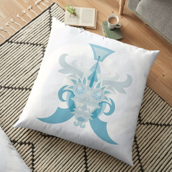 Crystal Sea Creature Floor Pillow
