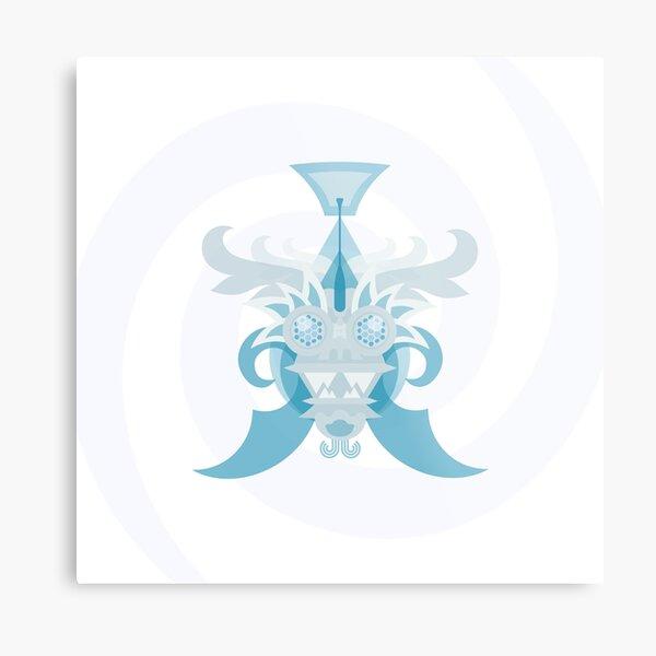 Crystal Sea Creature Metal Print