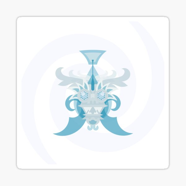 Crystal Sea Creature Sticker