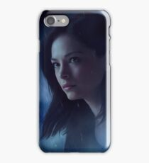 Catherine Chandler - Rainy Atmosphere iPhone Case/Skin