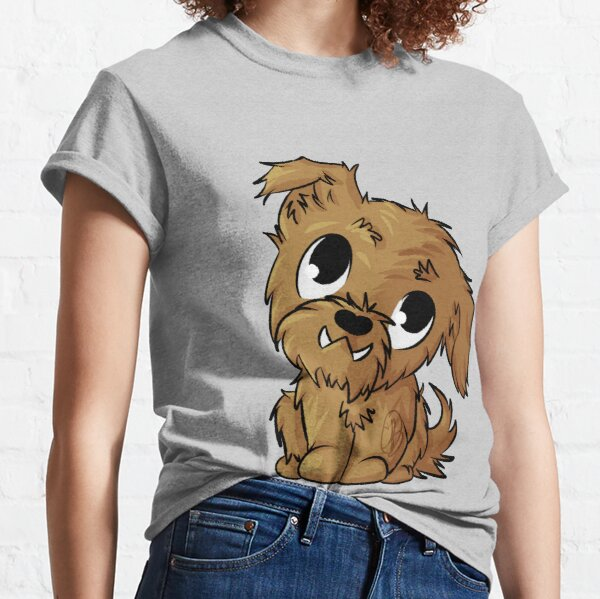 Doodle Dog - Scruffy Ginger Classic T-Shirt