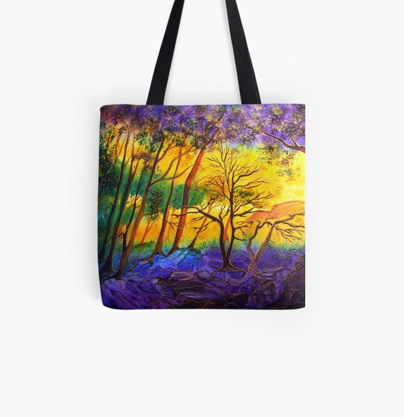 Sunkissed Valley  All Over Print Tote Bag