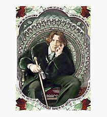 Oscar Wilde 2 Photographic Print
