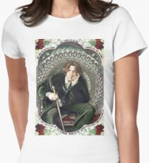 Oscar Wilde 2 Women's Fitted T-Shirt