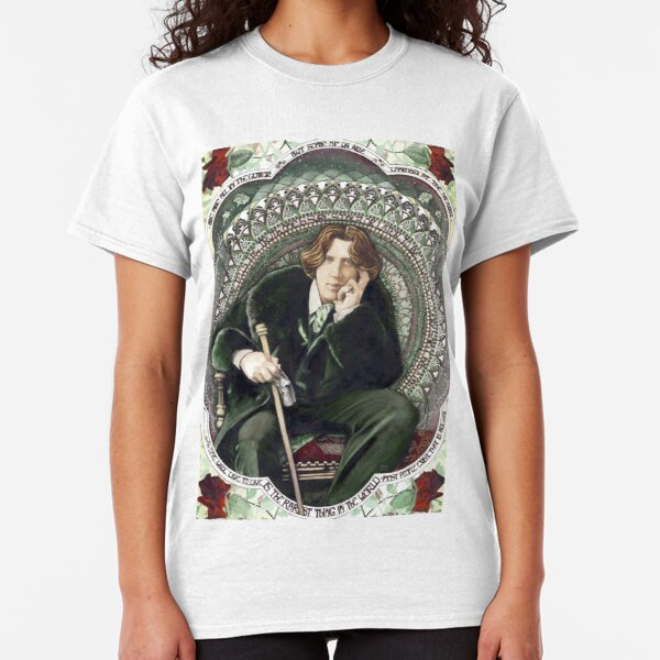Oscar Wilde 2 Classic T-Shirt
