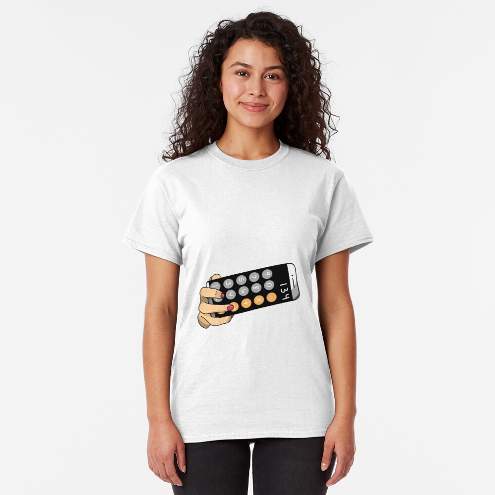 calculator selfie  Classic T-Shirt