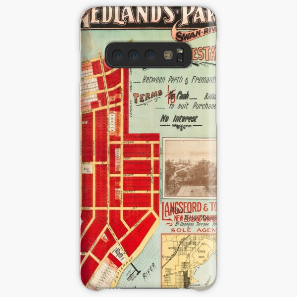 Map of Nedlands Park Tramway Estate, Perth, Western Australia, 1910, State Library of Western Australia Samsung Galaxy Snap Case