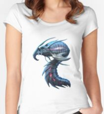 Underwater creature_second version Women's Fitted Scoop T-Shirt