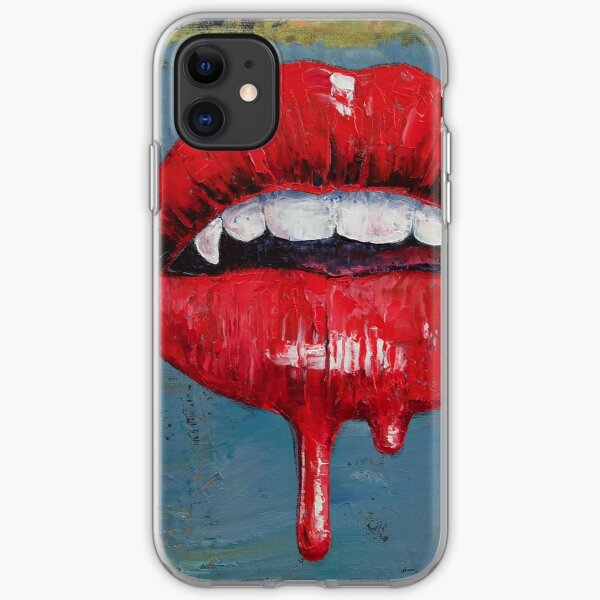Vampire iPhone Soft Case