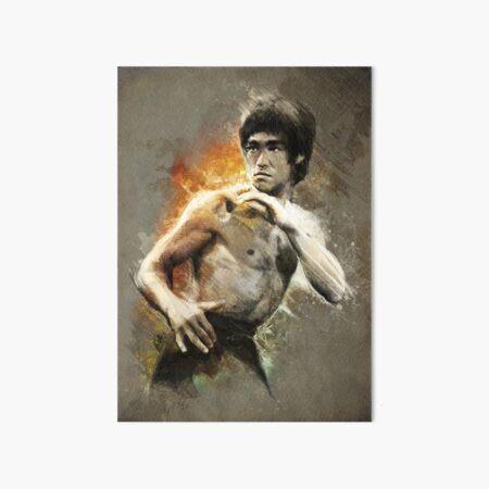 Bruce Lee | The Legend Art Board Print