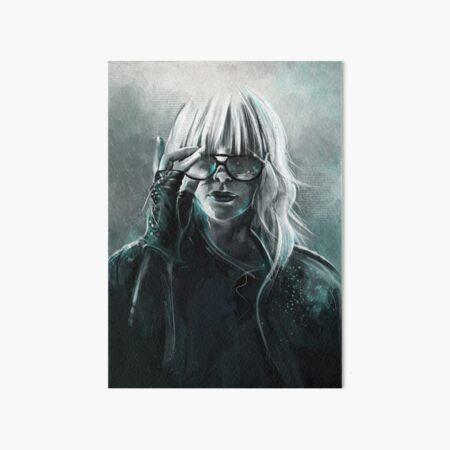 Atomic Blonde Art Board Print