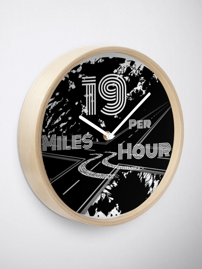 Alternate view of Limited Edition Bass Drum Design Clock