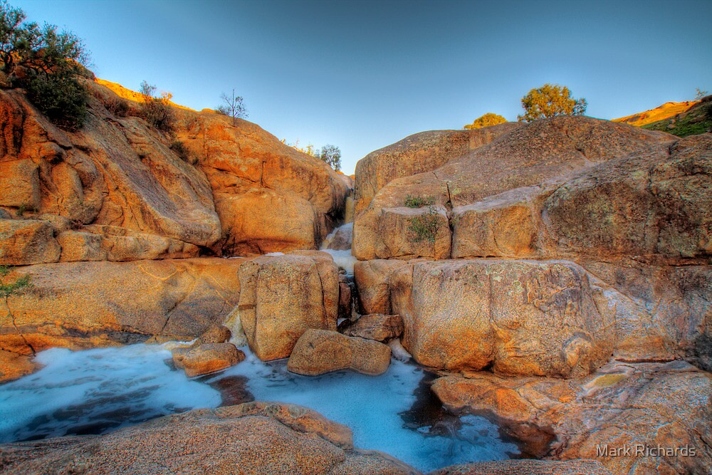 The Red Earth - Mannum Falls, Murraylands, South Australia by Mark Richards