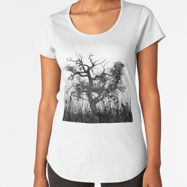 Moon Tree version 2 Premium Scoop T-Shirt