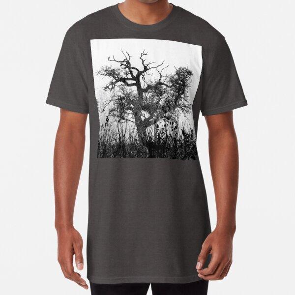 Moon Tree version 2 Long T-Shirt