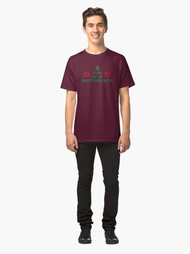 Alternate view of Elf - Son Of A Nutcracker Classic T-Shirt