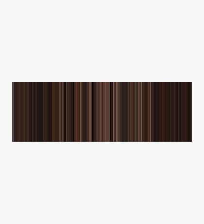 Moviebarcode: The Godfather: Part III (1990) [Simplified Colors] Photographic Print