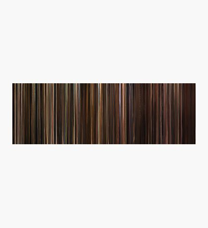 Moviebarcode: The Godfather Trilogy (1972-1990) Photographic Print