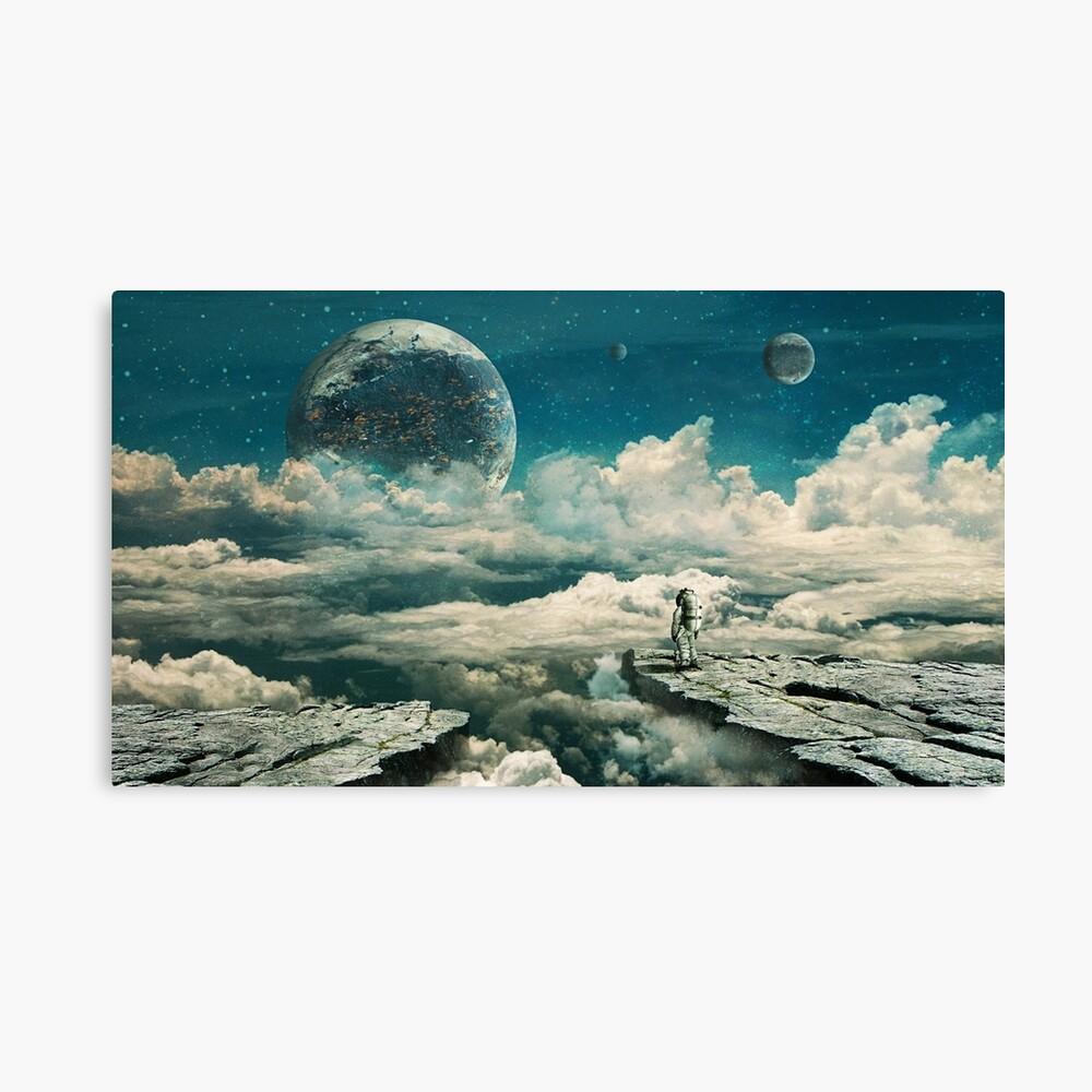 The explorer Canvas Print