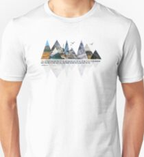 MOVING MOUNTAINS Unisex T-Shirt