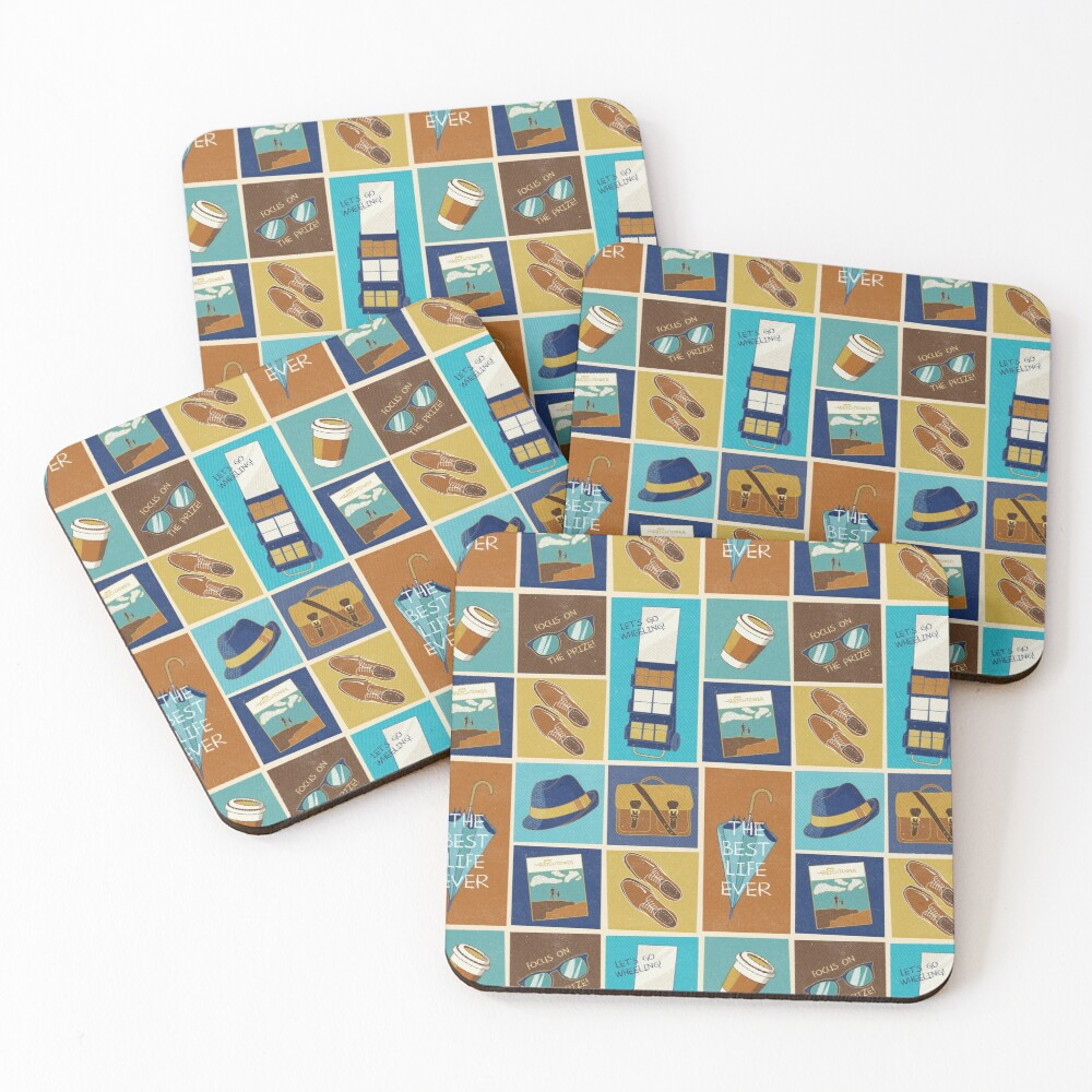 PREACHING ICONS (FOR HIM) Coasters (Set of 4)