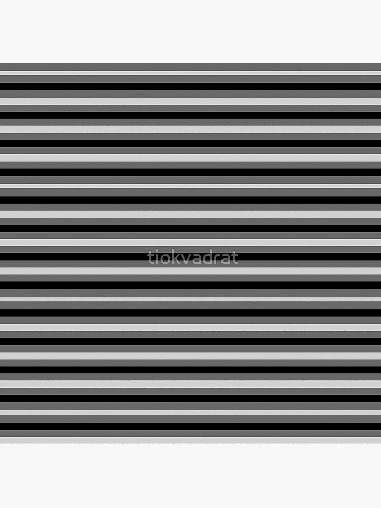 Dinner Stripes - Grey by tiokvadrat